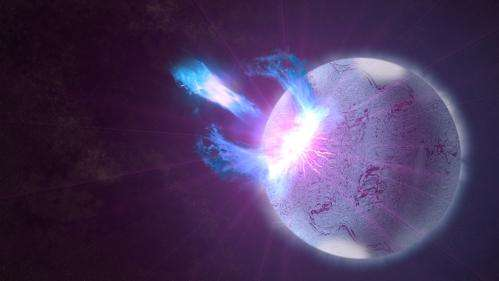 NASA's Fermi Satellite Finds Hints of Starquakes in Magnetar 'Storm'