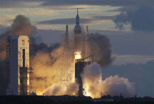NASA's Orion craft hits high point of 3,600 miles