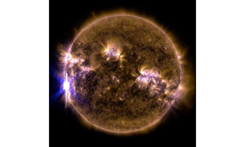 NASA's SDO shows images of significant solar flare