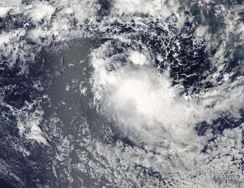 NASA's watches Tropical Cyclone Bakung over open ocean