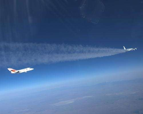 NASA to study the effects on emissions and contrail formation of burning alternative jet fuels