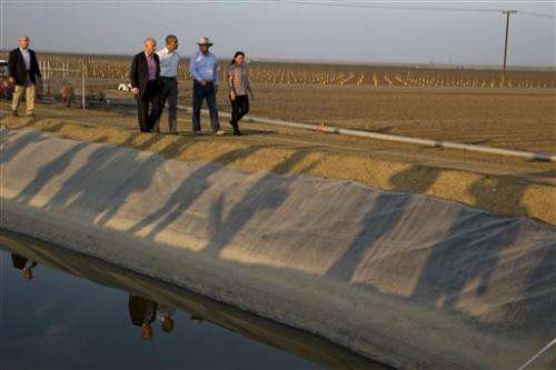 NASA turns research to California drought
