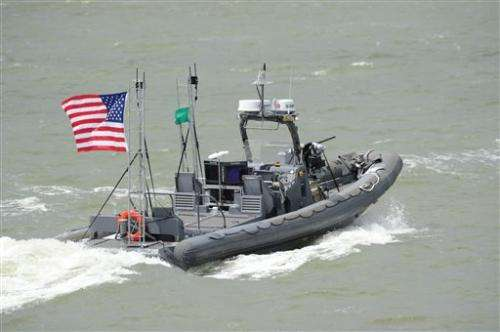 Navy: Self-guided unmanned patrol boats make debut