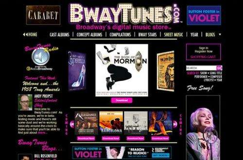 New digital music store to cater to theater fans