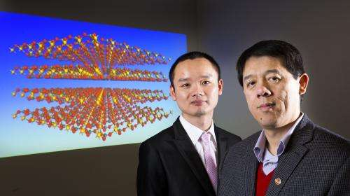 New material could help with carbon storage