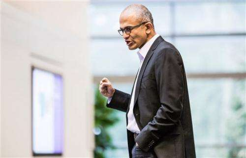New Microsoft CEO's collegial style sparks hope