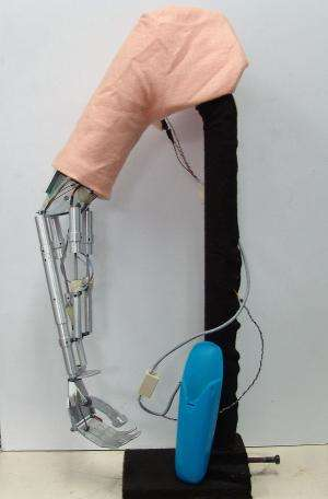 New prosthetic arm controlled by neural messages