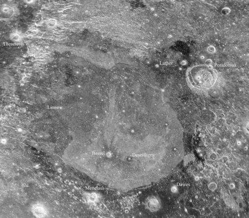 New radar images uncover remarkable features below the surface of the Moon