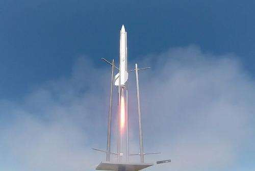 New rocket propellant and motor design offer high performance and safety