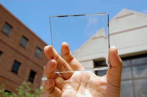 New type of solar concentrator desn't block the view