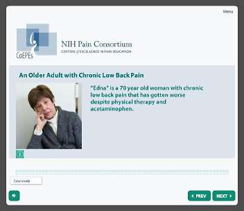 NIH Pain Consortium's first pain care curriculum improves clinical skills