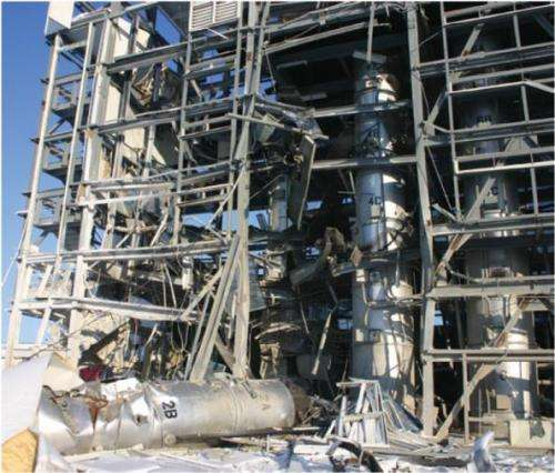 NIST analysis helps the U.S. Chemical Safety Board pinpoint root cause of pressure vessel failure