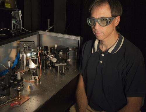 Novel NIST laser system mimics sunlight to test solar cell efficiency