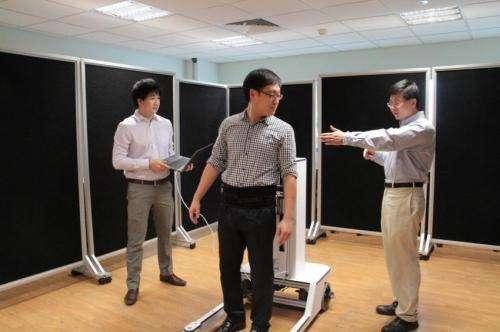 Novel robotic walker invented by NUS researchers helps patients regain natural gait