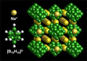 Novel sodium-conducting material could improve rechargeable batteries
