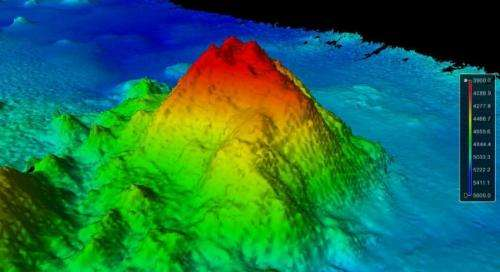 Ocean Mappers Discover Seamount in Pacific Ocean