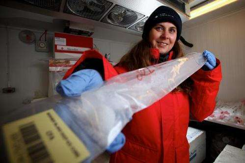 Ocean winds keep Antarctica cold, Australia dry