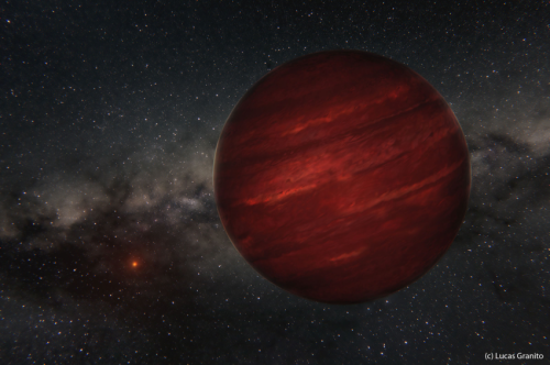 Odd planet, so far from its star...