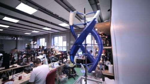 Omni3D's big idea: Wind turbines in backpacks
