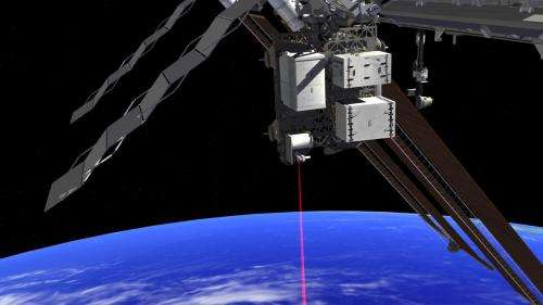 OPALS project uses laser beams for Earth-space communications
