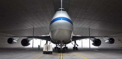 Outer Space to Inner Space: SOFIA Inside Lufthansa Technik Hangar
