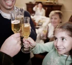Parents may be putting kids on path to drinking