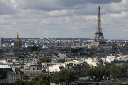 Paris is the first French city endowed with its own internet extension, and will receive 40-60 percent of the revenue from those