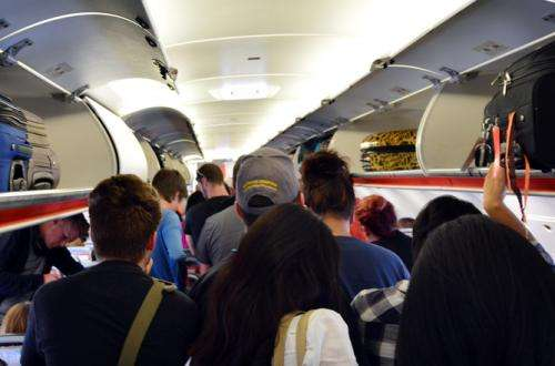 Passengers boarding airplanes—we're doing it wrong