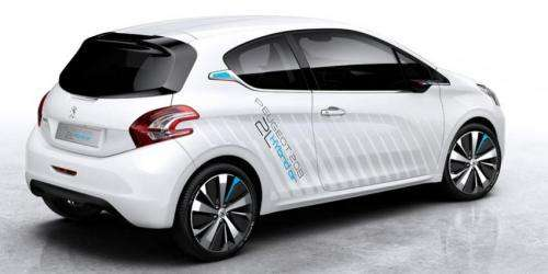 Compressed Air Car >> Peugeot Hybrid Compressed Air Car Set For Paris Motor Show