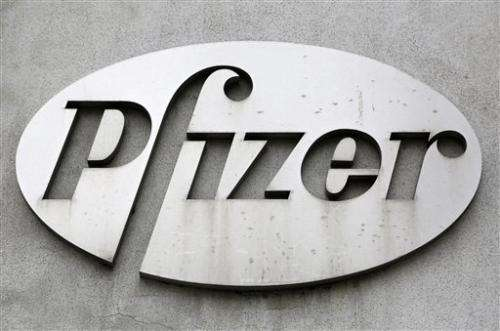 Pfizer 1Q profit drops 15 pct due to lower sales
