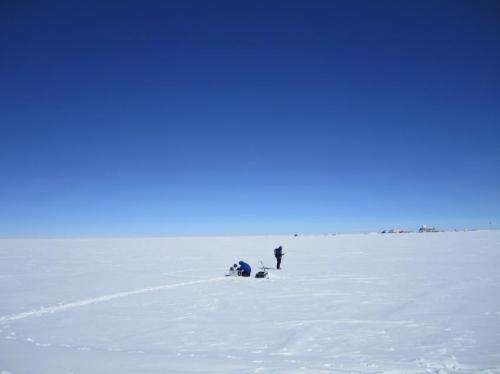 Researchers suggest Greenland ice shelf melting faster due to embedded dust particles