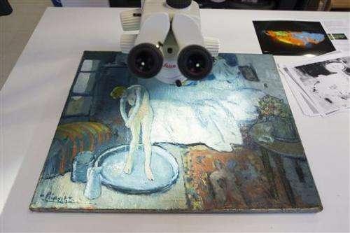 Picasso painting reveals hidden man