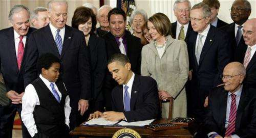Poll: Obama health law fails to gain support