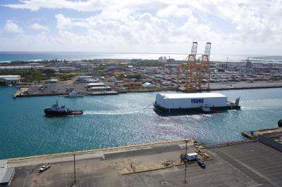 Portable hydrogen fuel cell unit to provide green, sustainable power to Honolulu port