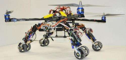 Robot lab's snake, copter combo rethinks search and rescue