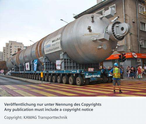 Precision for huge transportation loads