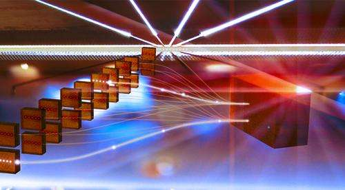 Proposed modular quantum computer architecture offers scalability to large numbers of qubits