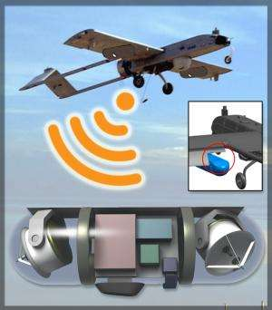 Remote troops closer to having high-speed wireless networks mounted on UAVs