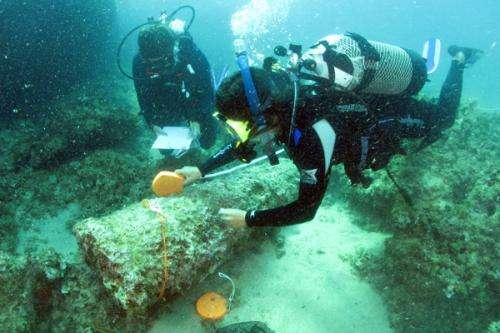 Researcher looks underwater for history of the Roman Empire