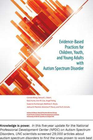 Research on autism interventions helps parents make better choices
