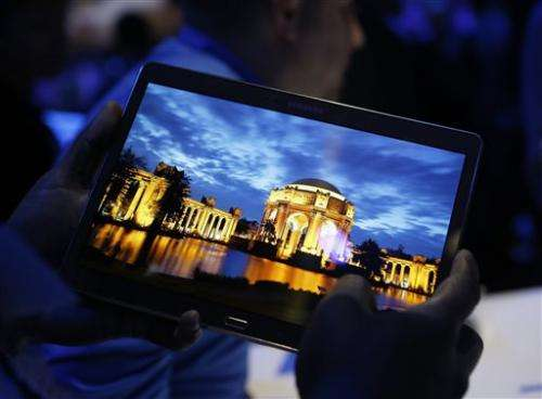 Review: Colors come to life in new Samsung tablet
