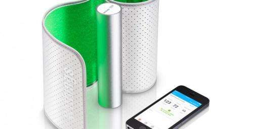 Review: Wireless blood pressure monitor transmits reading to smartphone