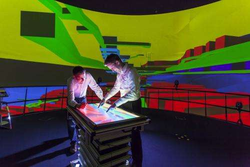 Virtual lab for nuclear waste repository research