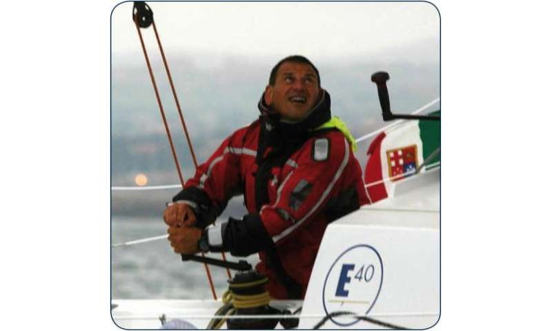 Satellites guide sailor from treacherous waters