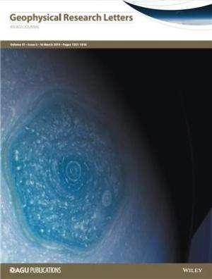 Saturn's hexagon atmospheric phenomenon