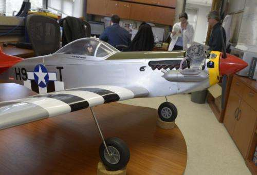 Scale Model WWII Craft Takes Flight with Fuel From the Sea Concept