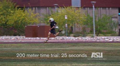 Wearable 4MM jetpack tested on speed, agility for runners (w/ Video)