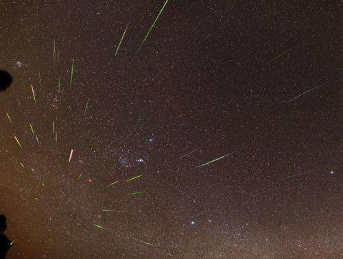 See one of the year's best meteor showers, thanks to Halley's comet