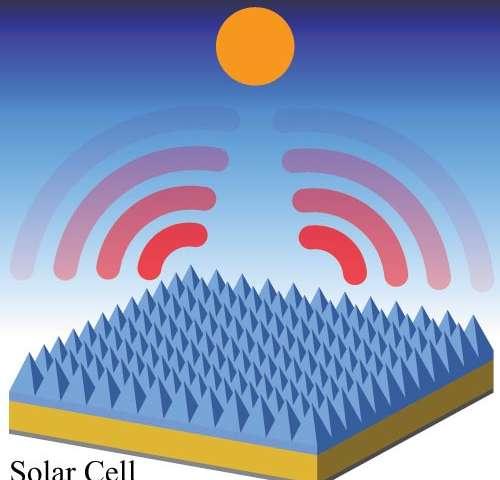 Self-cooling solar cells boost power, last longer