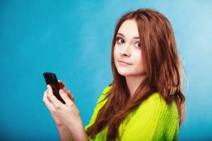 Sexting in teens linked to more sexual activity, low self-esteem